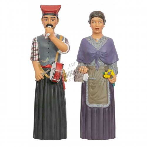 Gigantes de Castellbisbal (Manel y Vicenta)