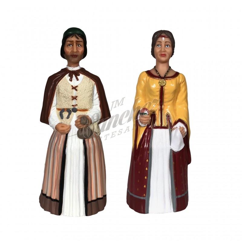 Gigantes de Valtierra (Sanchicorrota y Doña Blanca)